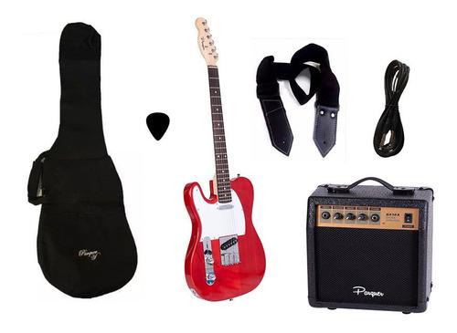 combo guitarra electrica zurdo tele rd parquer amplificador
