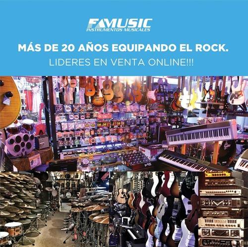 combo guitarra t/ stratocaster + amplificador 5w a pilas