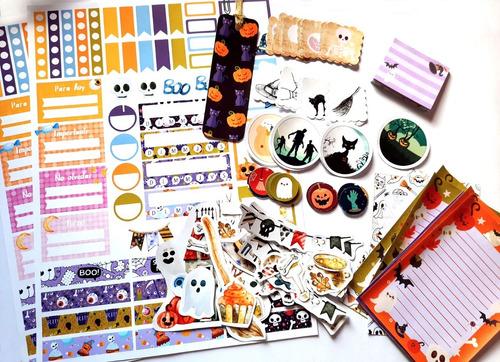 combo halloween bullet journal bujo scrapbooking 90 stickers