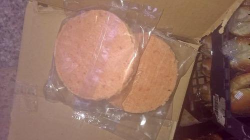 combo hamburguesas gigantes 40u. con pan, consulte precio