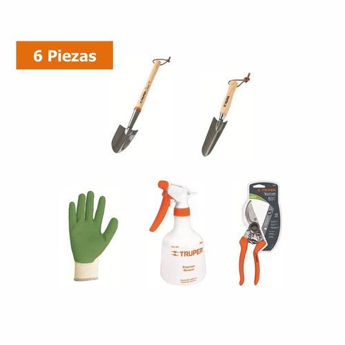 combo herramientas de jardineria 6 piezas- envio gratis