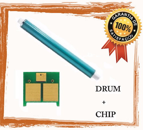 combo hp cp1025 cilindro y chip drum ce 314