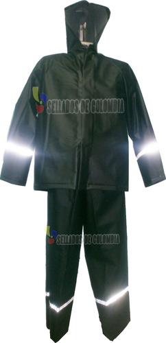 combo impermeable moto 4 piezas + pijama moto sdc original