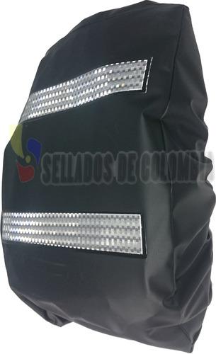 combo impermeable moto 4p xxl + forro maleta + envío gratis