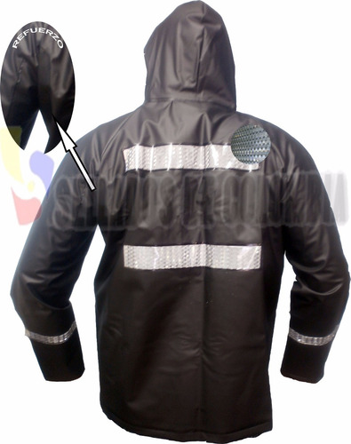 combo impermeable moto + zapatones latex no desechable, 2 ob