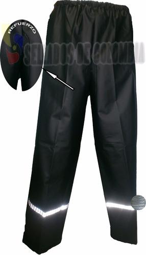 combo impermeable moto + zapatones latex xxl, 2 ob