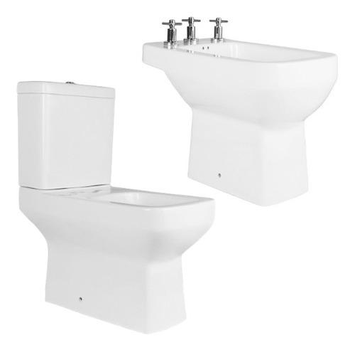 combo inodoro bidet 3a deposito pringles dioniso oferta baño