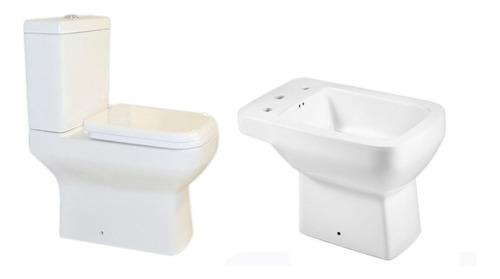 combo inodoro bidet deposito pringles dioniso +  asiento