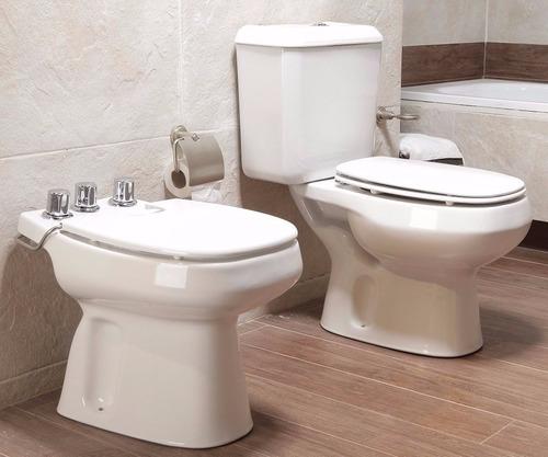 combo inodoro roca monaco baño deposito bidet