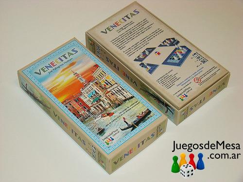 combo juego venecitas + código enigma. juegos de autor