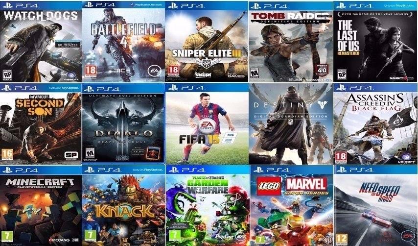 Combo Juegos Digitales Ps4 Llevate Dos Juegos A Eleccion 899