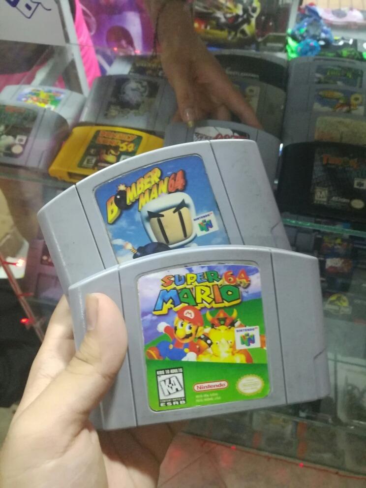 Combo Juegos Nintendo 64 120 000 En Mercado Libre