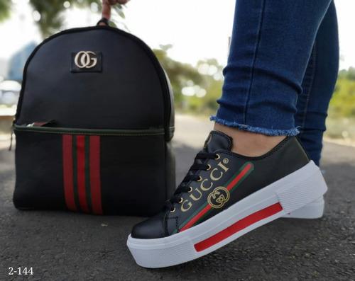 combo juvenil bolso calzado envio gratis