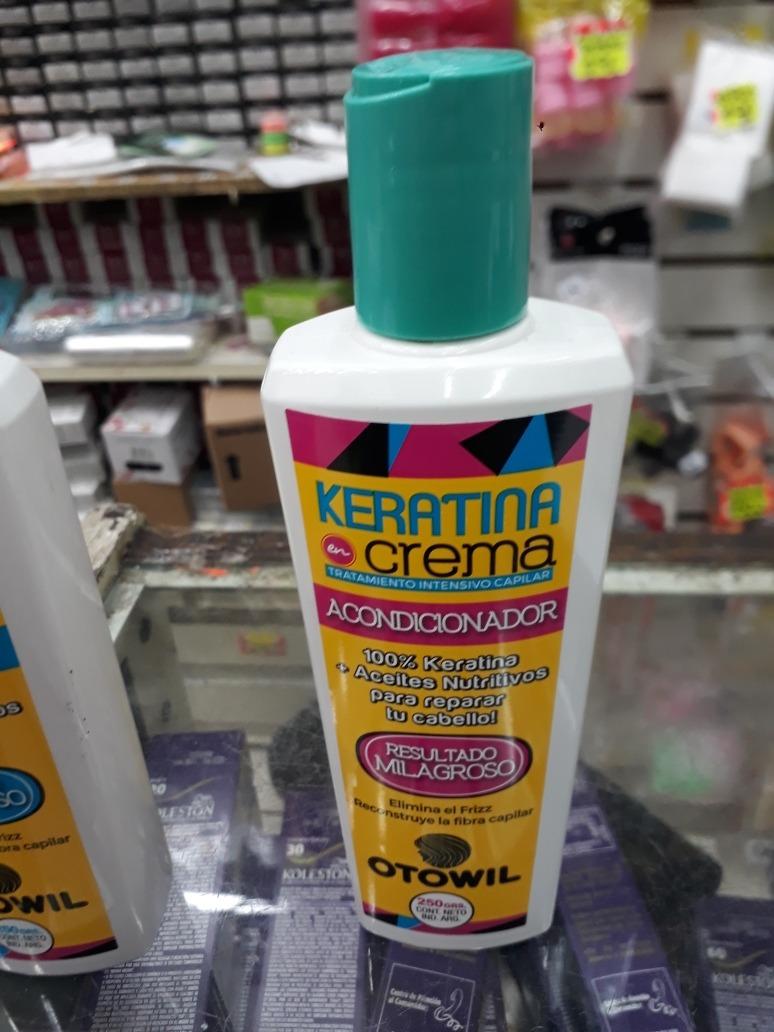 Combo Keratina Otowil Shampoo Y Acondicionador Bano 684 00 En Mercado Libre