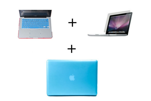 combo kit 3 en 1 macbook pro 13, 13.3 matte