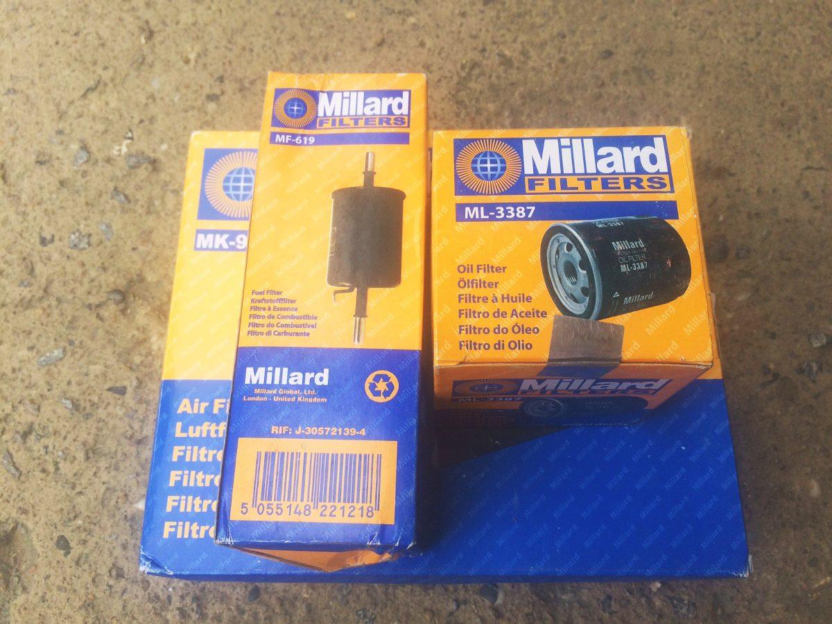 combo kit filtros gasolina aire aceite millard para aveo. Cargando zoom. 00082573e2