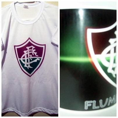 combo kit fluminense = camiseta + caneca