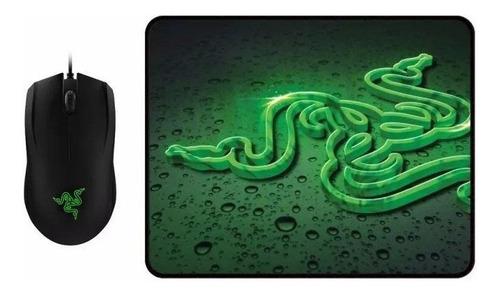 combo kit gamer mouse + pad pc ps4 xbox juegos