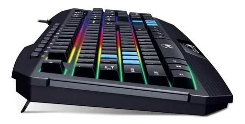 combo kit gamer teclado k215 y mouse x-g200 genius + envio