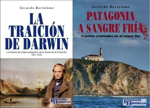 combo la traición de darwin + patagonia a sangre fria