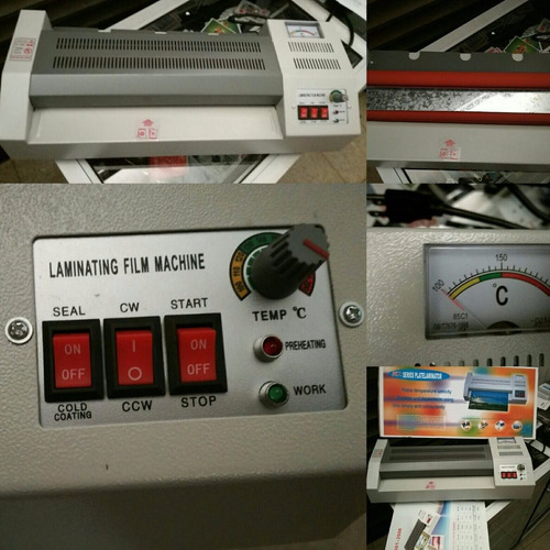 combo laminador anillador guillotina oferta industrial a4