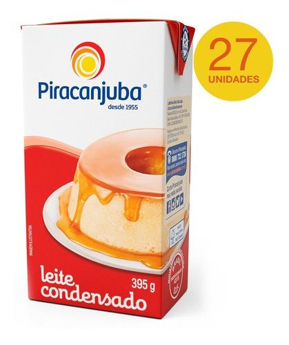 combo leite condensado piracanjuba 27x395g