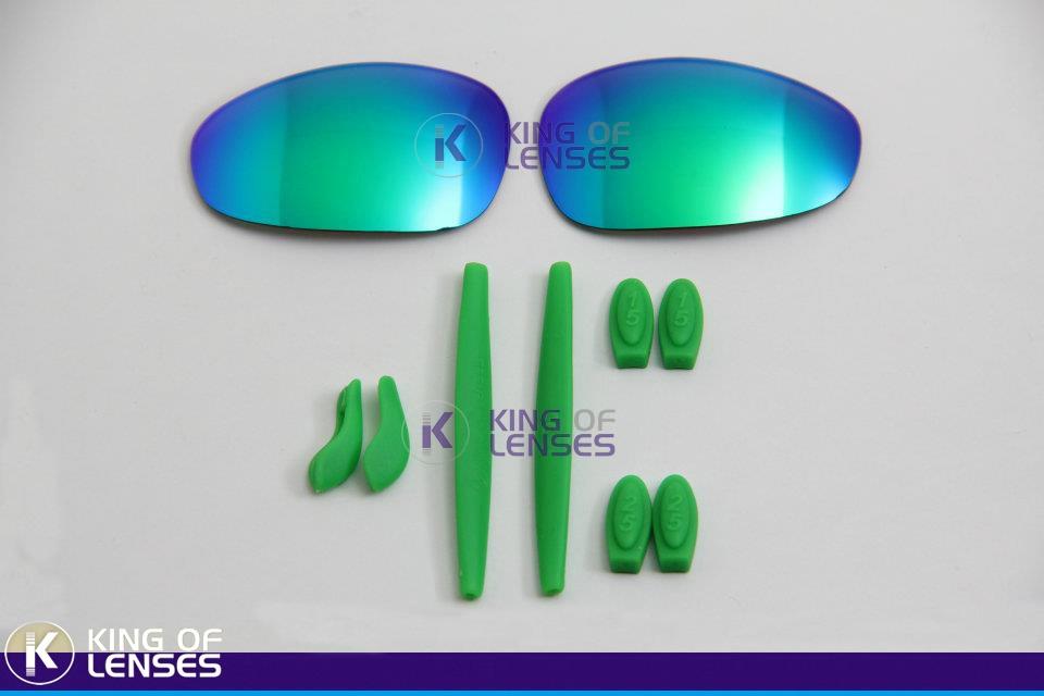 Combo Lente Custom + Borrachinha Para Oakley Juliet - R  139,99 em ... 6e1b5cb897