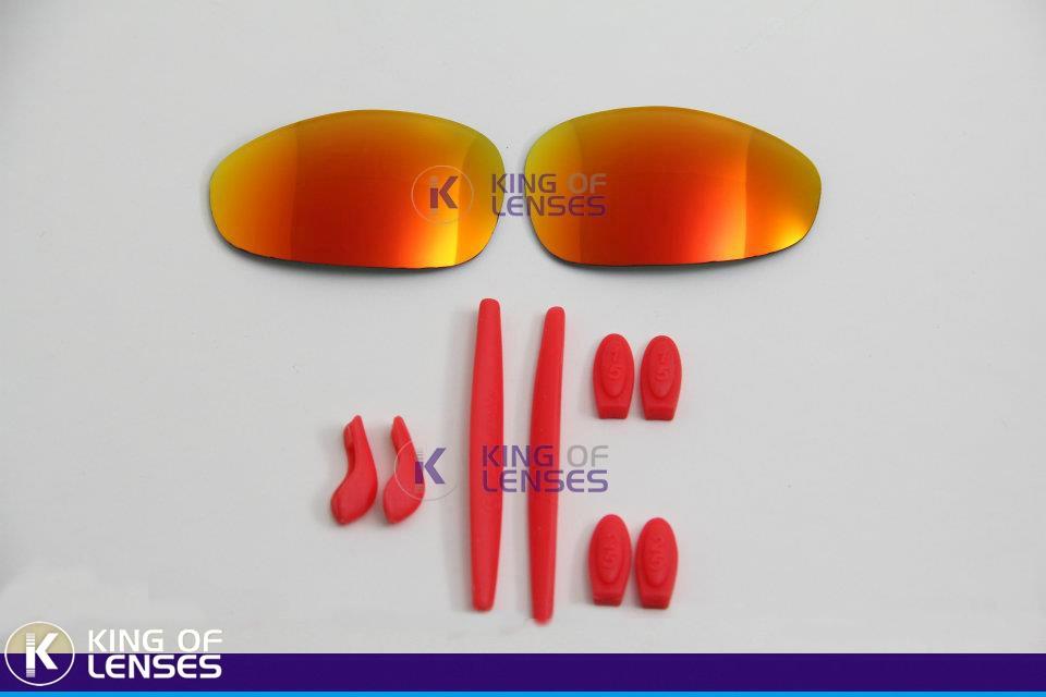 75197e9c9 Combo Lente Custom + Borrachinha Para Oakley Juliet - R$ 139,99 em ...