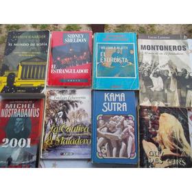 Combo Libros Varios Ficcion, Sexo, Biografias, Turismo,