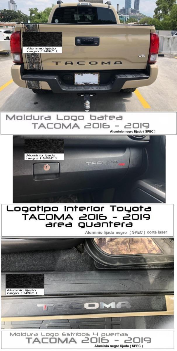 Combo Logotipos Toyota Tacoma 2016 2019 Promocion 2 200 00 En