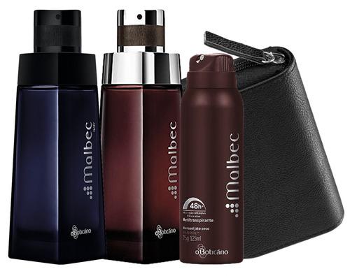 combo malbec boticário perfume + malbec noir - 2 de 100 ml-