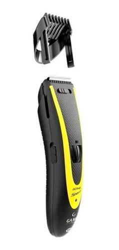 combo maquina cortar pelo gama gcs544 sport usb + trimmer