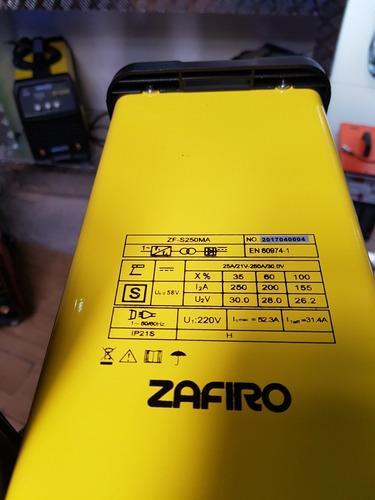 combo maquina de soldar inverter electronica 250 amp