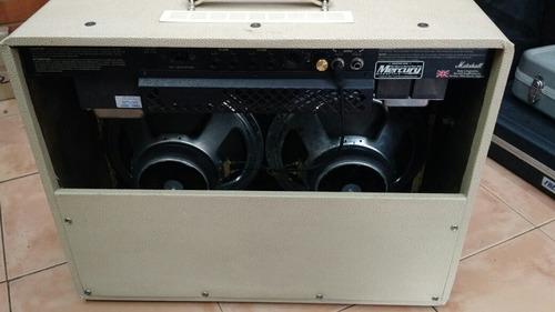 combo marshall jcm600 2x12 usado