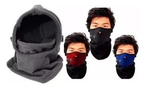 combo mascara térmica completa pasamontañas  y cortaviento