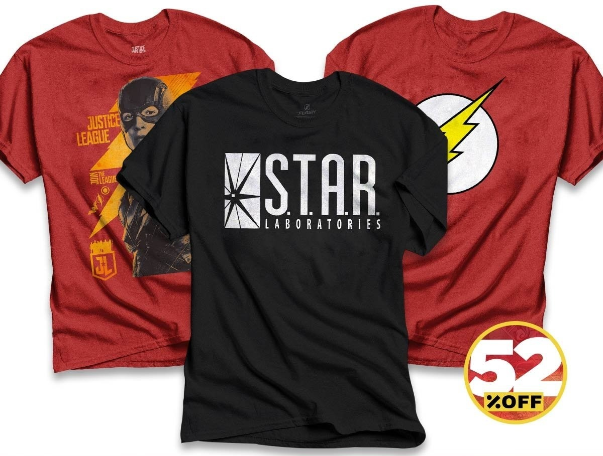 3488c1e85 combo masculino the flash - kit 3 camisetas. Carregando zoom.