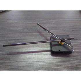 Combo Mecanismo Para Reloj De Pared 5.5 X 5.5 Cm Y Agujas