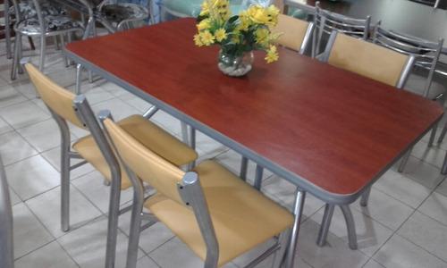 combo mesa + 4 sillas aldana caño unican