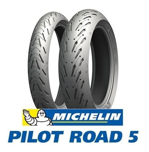 combo michelin 120/70-17 + 190/50-17 pilot road 5 lançamento