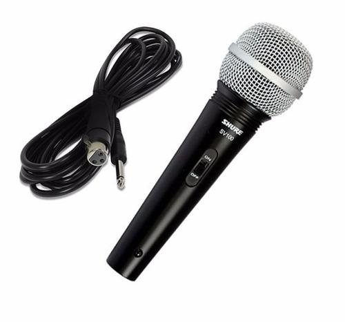Resultado de imagen para microfono shure sv100 cable