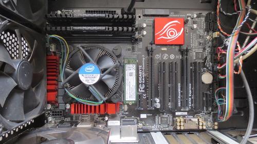 combo mineria gaming board ddr3 procesador disco m.2 steam