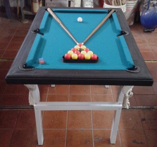 combo mini pool + mini tejo + mini metegol