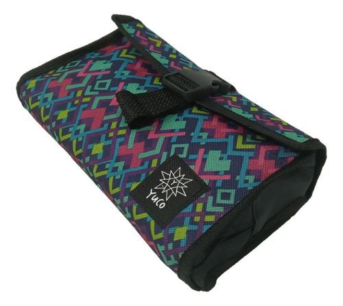 combo mochila escolar portanotebook + cartuchera desplegable