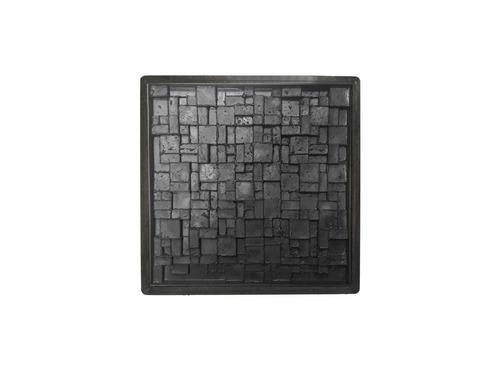 combo molde placa antihumedad travertino 3d