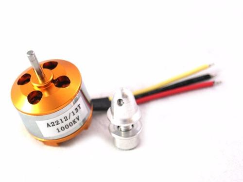 combo motor brushless 2212 1000kv + esc 30a (900 grs empuje)
