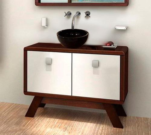 combo mueble estilo diseño bacha persis ferrum con griferia