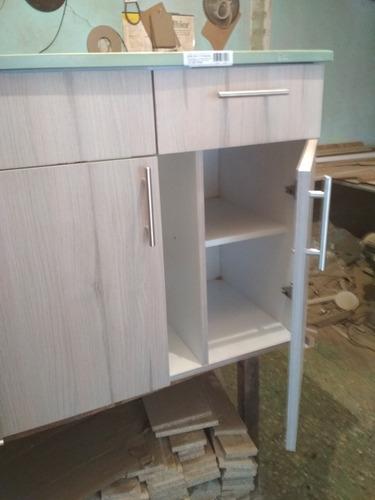 combo mueble fregadero y alacena  de 80 cm.