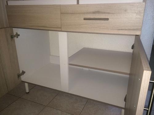 combo muebles de cocina sin tarja