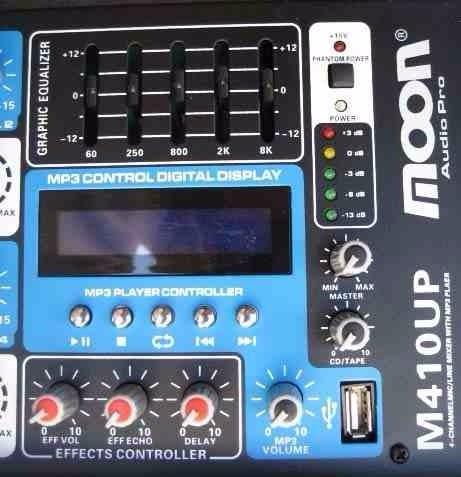 combo musica funcional moon m410up 8 parlantes de 6 embutir de techo cieloraso esdj