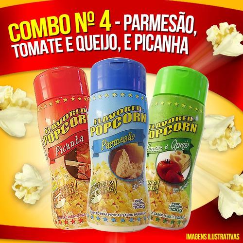 combo nº 4 - parmesão, picanha, tomate e queijo